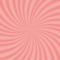 Fundo de raios-de-rosa brilhante. Efeito Twister. vetor
