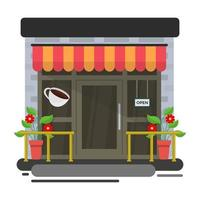 conceitos de restaurante da moda vetor