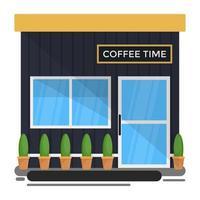 conceitos de hora do café vetor