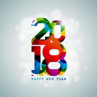 Feliz Ano Novo Ilustração