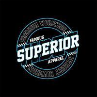 vibrações superiores roupas famosas simples vintage vetor