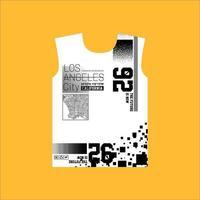 design de camiseta simples em nova york supply co vetor