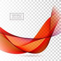 Design de onda abstrata
