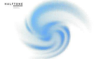 conceito de meio-tom abstrato de estilo azul para seu design gráfico vetor