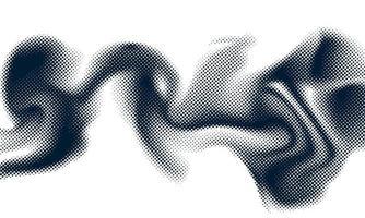 conceito de meio-tom de estilo abstrato para seu design gráfico vetor