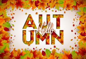 Ilustração de outono