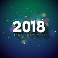 Feliz Ano Novo 2018 Ilustração