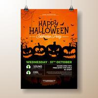 Ilustração de passageiro de festa de Halloween