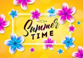 Sua ilustração de horário de verão