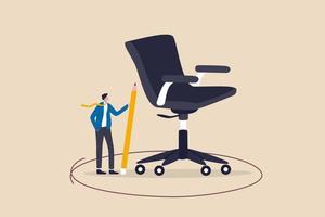 limite de trabalho, zona de conforto ou escopo de trabalho, definir atribuição vetor