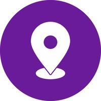 ícone de localização de vetor