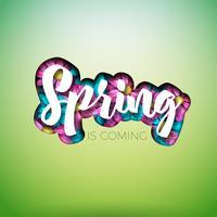 Projeto da natureza primavera