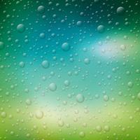 ilustração de gotas de água vetor