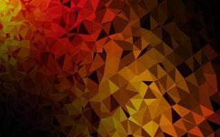 cenário de mosaico abstrato de vetor preto escuro.