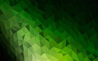 fundo abstrato do polígono do vetor verde escuro.