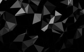 prata escura, fundo poligonal do vetor cinza.