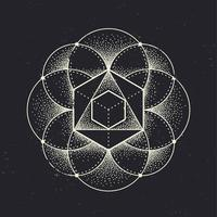 Geometria sagrada vetor