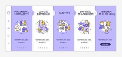 lançamento de modelo de vetor de integração para crianças adultas