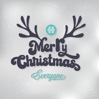 Fundo de Natal de fundo Vector
