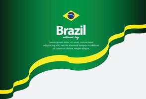 dia da independência do brasil. dia da liberdade. ilustração vetorial vetor