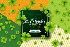 Design de venda do dia de São Patrício