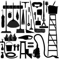 Equipamentos de ferramentas domésticas. vetor