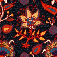 Ornamento paisley nacional indiano para algodão, tecidos de linho.