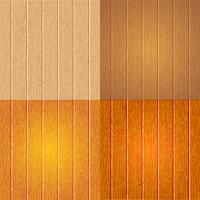 Conjunto de textura de madeira diferente vetor