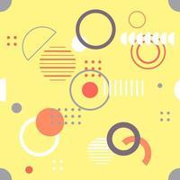moderno sem costura, padrão geométrico, ilustração vetorial. vetor