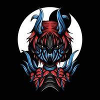 ilustração da arte do vetor carne do diabo