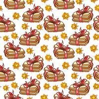 Cookies padrão sem emenda vetor