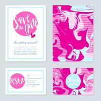 Cartão brilhante com design de garota shabbi. vetor