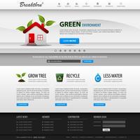 Modelo de elemento de site Web Design.