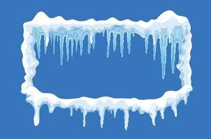 composição da calota de gelo vetor