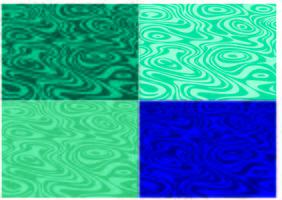 padrões de superfície da água vetor