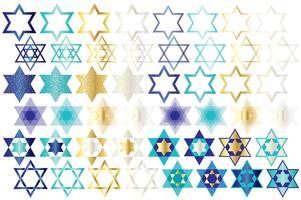 Clipart de estrela judaica
