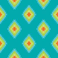 Padrão sem emenda de têxteis de rendilhado folclórico mexicano