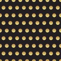 Universal preto e ouro sem costura padrão, lado a lado. vetor