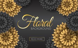 Fundo de vetor de flores de venda