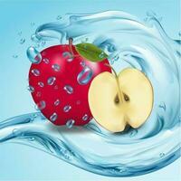 maçã vetor