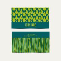 Fundo do cartão. Cor instantânea verde da tendência. vetor