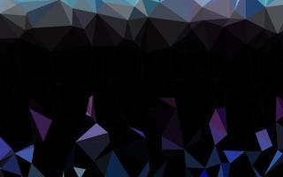 luz multicolor, padrão poligonal de vetor de arco-íris.