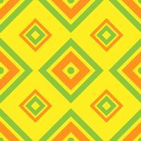 Sem costura padrão geométrico com praça