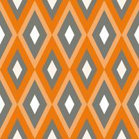 Textura sem costura com ornamentos geométricos. vetor