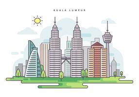 Ilustração de Kuala Lumpur Vector