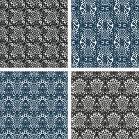 Conjunto de padrões de tricô