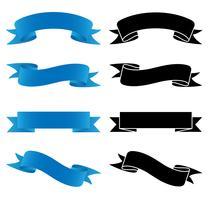 Banners definir ilustração vetorial vetor