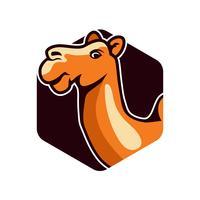 logotipo do camelo vetor