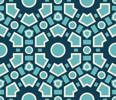 Textura geométrica padrão sem emenda. vetor