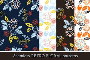 Sem costura padrão floral